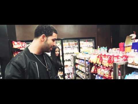 """Nicki & Drake BTS of Usher's """"She Came to Give It to You"""" Video"""