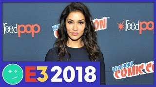 Janina Gavankar Goes to Hell - Gamespot Stage E3 2018