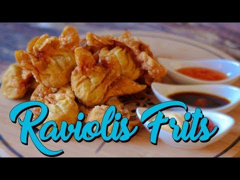 Raviolis Frits - Le Riz Jaune