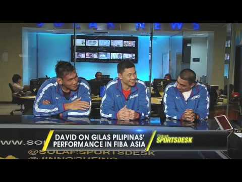 LA Tenorio, Gary David, and Junemar Fajardo guest on the Solar Sports Desk