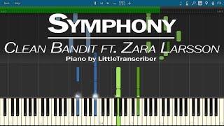 Download Lagu Clean Bandit ft. Zara Larsson - Symphony (Piano Cover) by LittleTranscriber Gratis STAFABAND