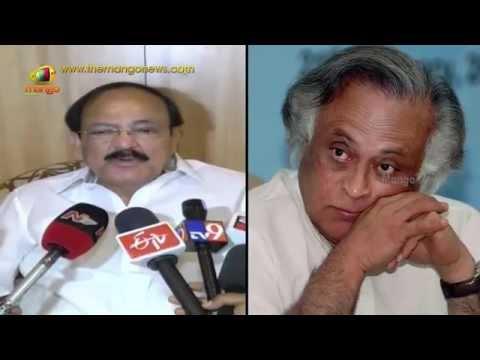 Venkaiah Naidu questions Jairam Ramesh over AP Special Status and Polavaram Project