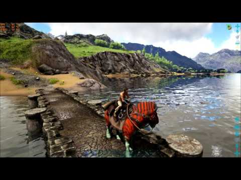 ARK Survival - Raw Gameplay GTX 970 Ultra 60 FPS