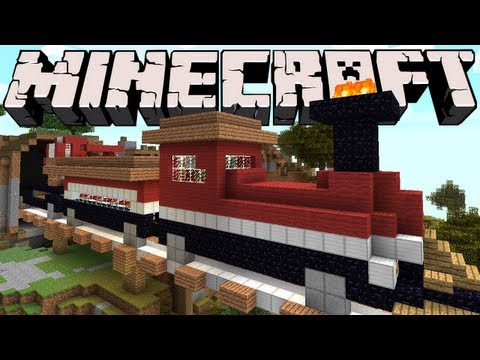 Minecraft - The Bed Train
