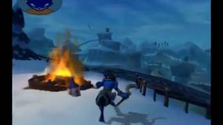 Sly Cooper Got Hit By A Train