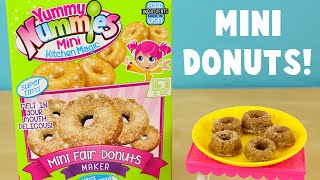 Yummy Nummies Mini Fair Donuts Maker DIY Make Your Own Tiny Donuts!