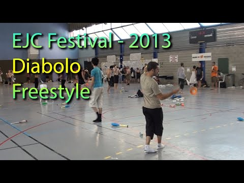 EJC 2013 Diabolo Freestyle
