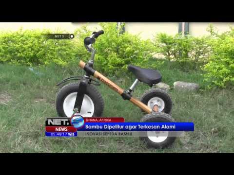 Inovasi Sepeda Bambu Buatan Ghana - NET5