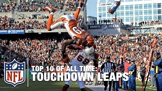 Top 10 Touchdown Leaps of All Time | NFL