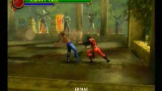 Mortal Kombat Shaolin Monks Johnny Cage Vs Ermac