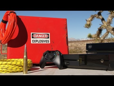 Xbox One vs 50 Cal and Explosives