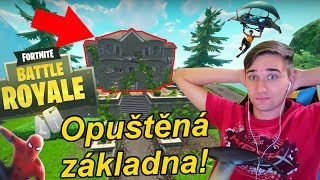 Spiderman kill a opuštěná základna! | Fortnite Battle Royale | Jakub Destro