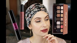 5 Minute Cat Eye Using NO Liner?! | ABH Sultry Palette | Mom On The Go Series