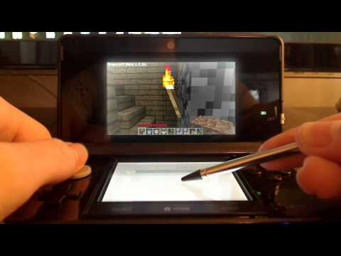 Minecraft For Nintendo 3DS Proof of concept