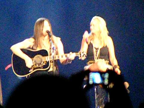 Miranda Lambert and Angaleena Presley Look It Up Live Revolution Tour 2011 in KY