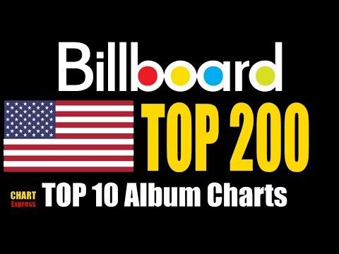 Billboard Top 200 Albums   TOP 10   February 10, 2018   ChartExpress