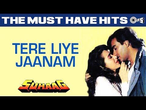 Tere Liye Jaanam - Suhaag | Ajay Devgn & Karisma Kapoor | S....