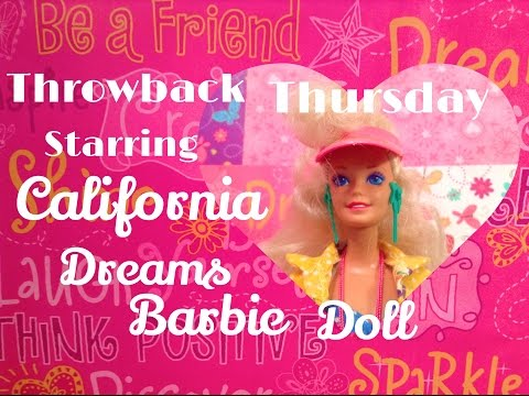 1987 California Dream Barbie Doll Review✨