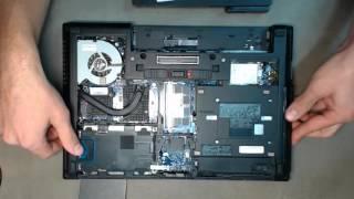 Ремонт ноутбука. Замена привода HP EliteBook 8470W