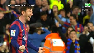 Lionel Messi ? 70 Amazing Goals in La Liga - Out of All 400 ? With Commentaries