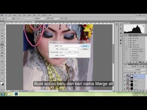 Tutorial Action Photoshop menghaluskan wajah 2 zafi skin care 2 BAGIAN 3