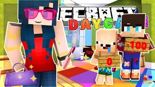 Minecraft Daycare - BECOMING SUPER MODELS! BABY FASHION SHOW!  (Minecraft Roleplay)