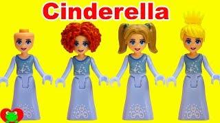 Disney Princess Cinderella vs  Belle Hair Styles Challenge