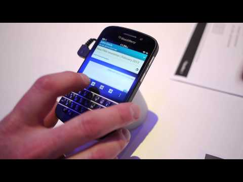 BlackBerry Q10 demonstration