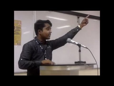 Akash Mohite  Marathi Speech  At Mit video