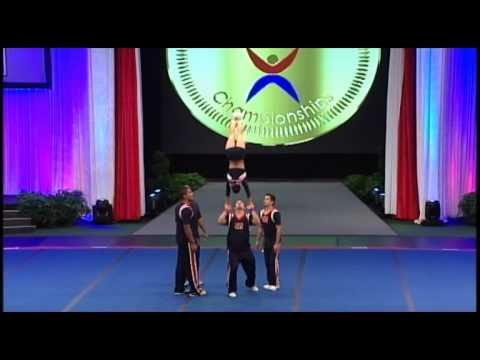 Team Costa Rica Coed Partner Stunt 2012