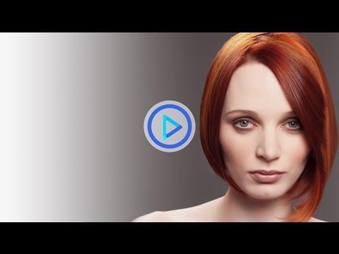 How to cut a bob haircut -- layered round disconnected bob Preview 37