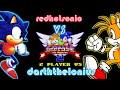 Sonic 2 - 2 Player VS - redhotsonic vs darththelonius