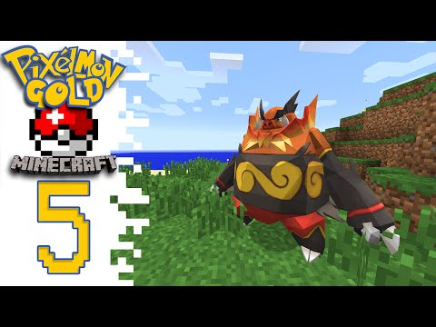 Pixelmon GOLD! (Pokemon Minecraft Mod) - EP05 - An Old Friend