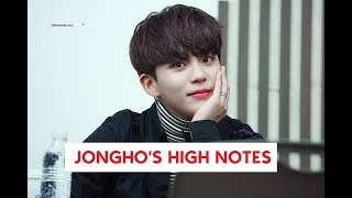 COMPILATION OF JONGHO'S HIGH NOTES (ATEEZ)