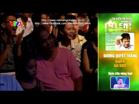 Vietnam's Got Talent 2012 - Bán Kết 4 - Dương Quyết Thắng - MS: 5
