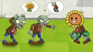 Plants Vs Zombies GW Animation - Episode 28 - Sunflower Zombie