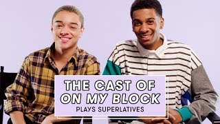 The Cast of Netflix's On My Block Reveals Who's Most Likely to Share a Spoiler and More