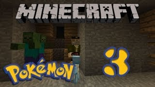 NO Hay Zombies!! Y un Huevo!! POKEMON En MINECRAFT 1.4.5 | Pixelmon Ep.3 | - Minecraft Mod