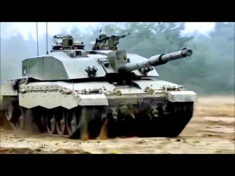 COMBAT PROVEN British Army Challenger 2 Tank just as good as German Leopard 2 720p