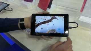 Alcatel One Touch Evo 7 HD tablet bemutat vide @ MWC 2013 | Tech2.hu
