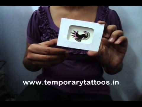 How to apply stick on crystal tattoos rhinestone body for Rhinestone body tattoos