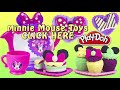 Minnie Mouse Bow-tique Play Doh Tea Playset Disney Junior Mickey Mouse Toys Juego de Té Plastilina