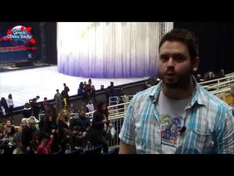 Greek Otaku Radio @ Disney On Ice in Greece 2014