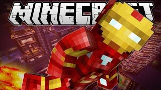 Minecraft   IRON MAN!! (Flying, Scatter Bombs & More!)   Vanilla Mod Showcase