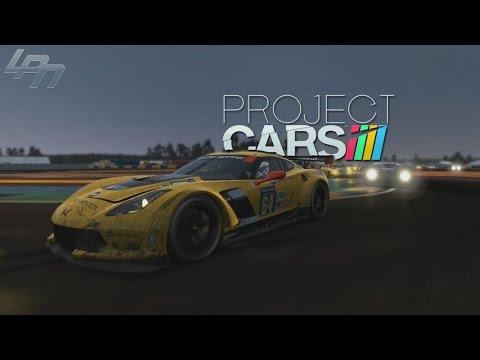 PROJECT CARS - CORVETTE C7-R   LeMans (PC) / Lets Play Project CARS