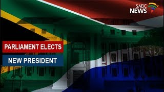 Parliament elects new president