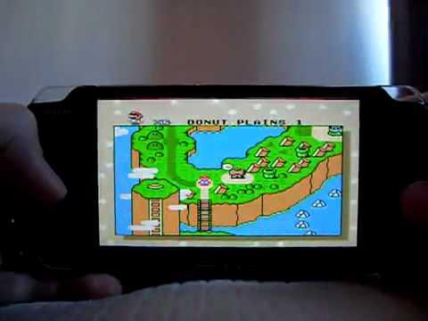 PSP Emulation -   Snes Emulator for PSP