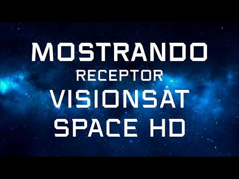 Mostrando o Repector SPACE HD (ACM-CCM) da Visionsat
