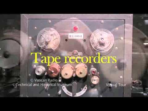 Virtual tour in Vatican Radio Museum