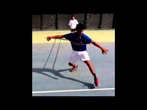 Sumit Nagal and Mahesh Bhupathi Physical Training